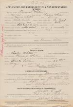 Florence M. White Student File