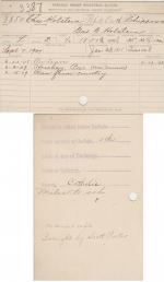 Charles Holstein Student File