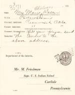 Marie Chilson Student File