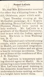 Florence Pennell Student File