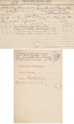 Roy Harrison Student File