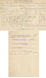 James Bradley Mumblehead Student File