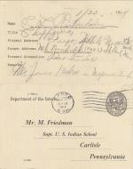 Cecil Richardson Student File