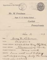 Lucy Stevens Student File