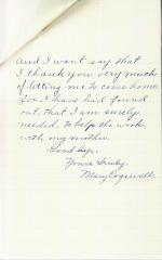 Mary Cogswell Student File