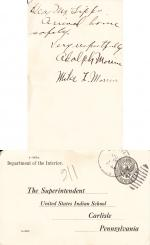 Adolph Morrin Student File