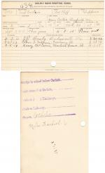 Fred Curtin Student File