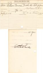 William Lenoir Student File