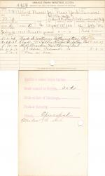 Albert Pierce Jr. Student File