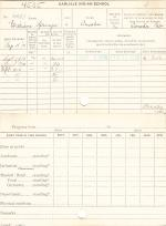 William Springer Jr. Student File