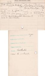 Lucinda Hereford Student File