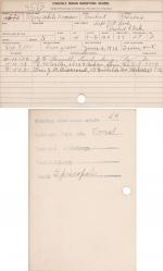 Mary White Woman Student File