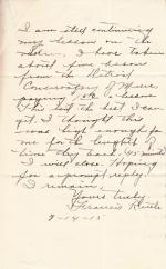 Francis Kettle Student File