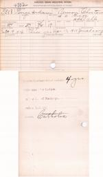 George Anderson Student File