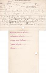 Francis McMahon Student File