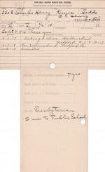 Charles Henry Student File