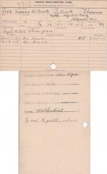 Francis A. LaPointe Student File