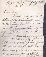 Agnes Conners Student File