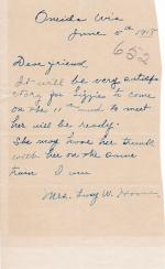 Lizzie House Student File