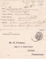 Lawrence Smith Student File