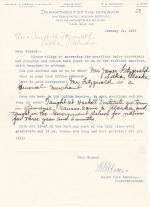 Flora Campbell Student File