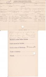 Jeanette Buckles Student File