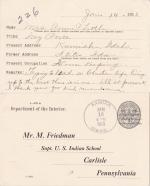 Anna Parnell Student File