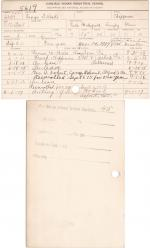George Tibbetts Student File