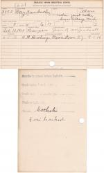 Mary Ann Cutler Student File