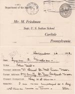 Lyman Madison Student File