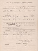 Wallace Mathews Student File