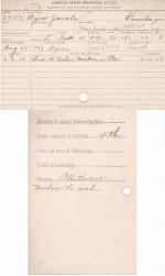 Agnes Jacobs Student File