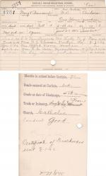 Margaret Beauchamp Student File