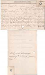 Fred Waterman Student File