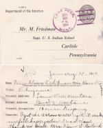 Florence Little Whiteman Student File