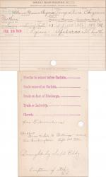Marion Mexican Cheyenne Student Information Card