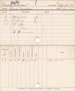 Alfred Clement Smith Progress Card