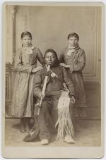 Red Dog, Lizzie Glode, and Lucy Day [version 2], 1880