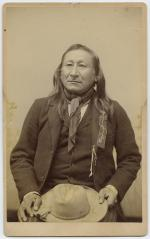 Young Man Afraid of Horses, visiting chief, c.1891