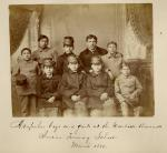 Nine Arapaho students, 1880