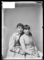 Minnie Billen [?] and Rosa Lewis, c.1886