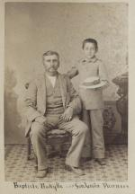 Baptiste Bayhylle and his son Louis Bayhylle [version 2], c.1882