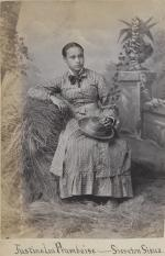 Justine La Framboise [version 2], c.1880