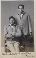 Eben Beads and Brian Early Bird, c.1886