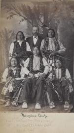 Five Arapaho chiefs, c.1885