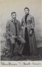 William Morgan and Rose Howell [version 2], c.1888