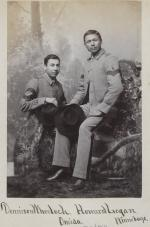 Dennison Wheelock and Howard Logan, c.1885