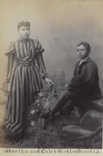 Martha Sickles and Caleb Sickles, c.1894