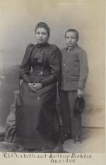 Elizabeth Sickles and Arthur Sickles, c.1892