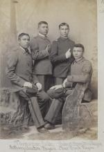 Thomas Kose, Robert Hamilton, Anthony Austin, and Charles Buck, c.1892